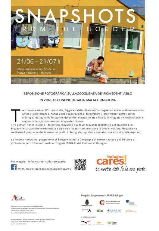 "MOSTRA FOTOGRAFICA ""SNAPSHOTS FROM THE BORDER"""