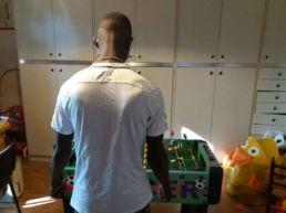 Abubakar, titolare di protezione umanitaria, ospite in una famiglia bolognese