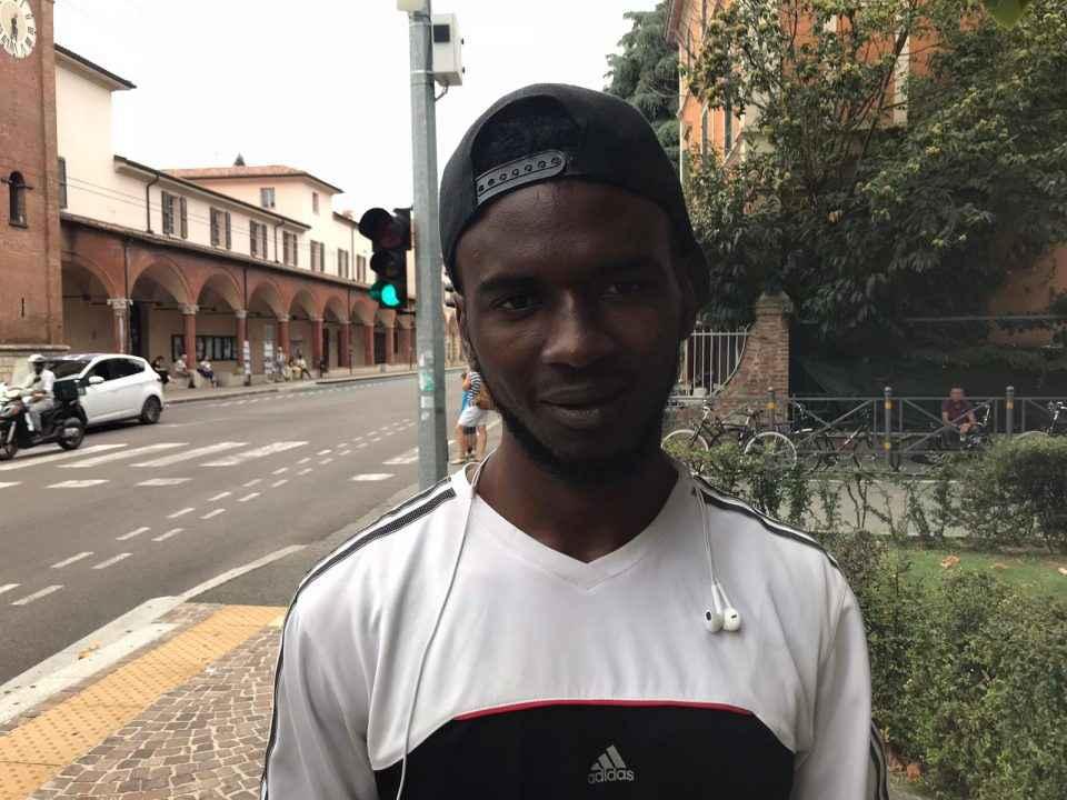 Abdulla, volontario per il welfare