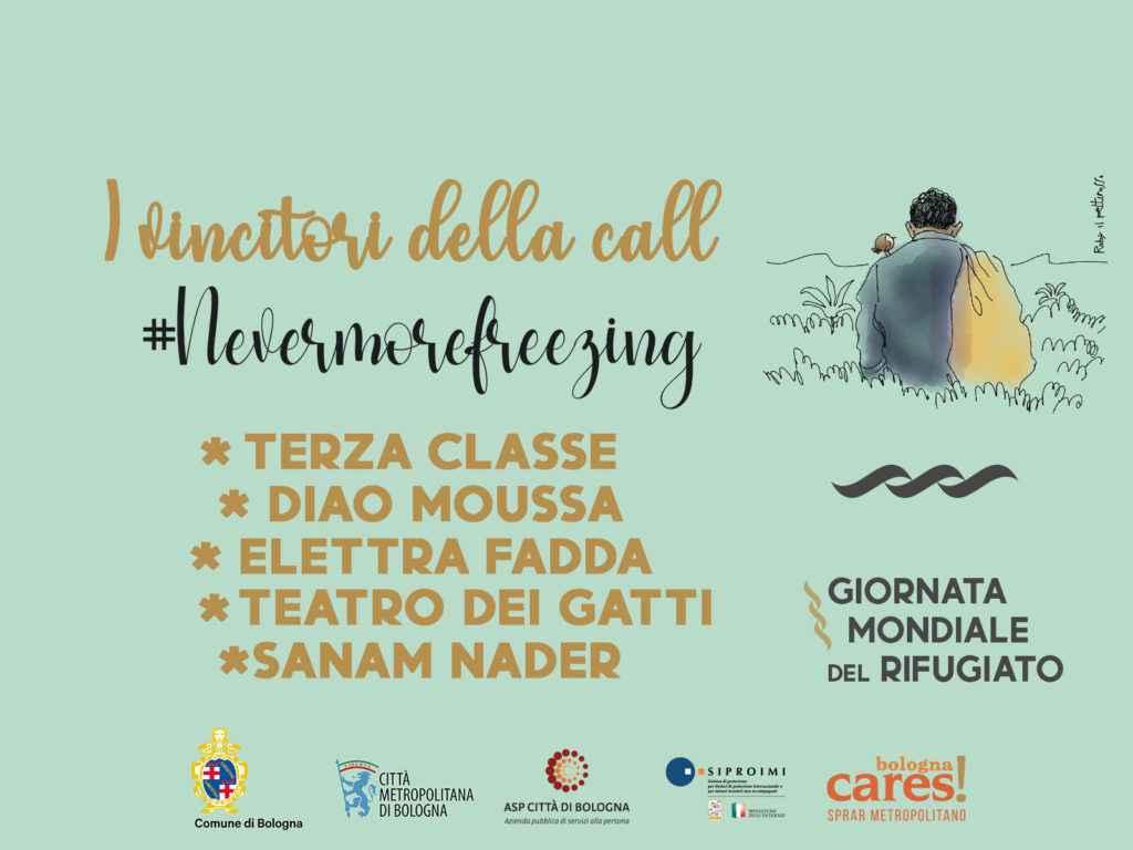 I 5 vincitori della call #Nevermorefreezing, il concorso per la Giornata Mondiale del Rifugiato